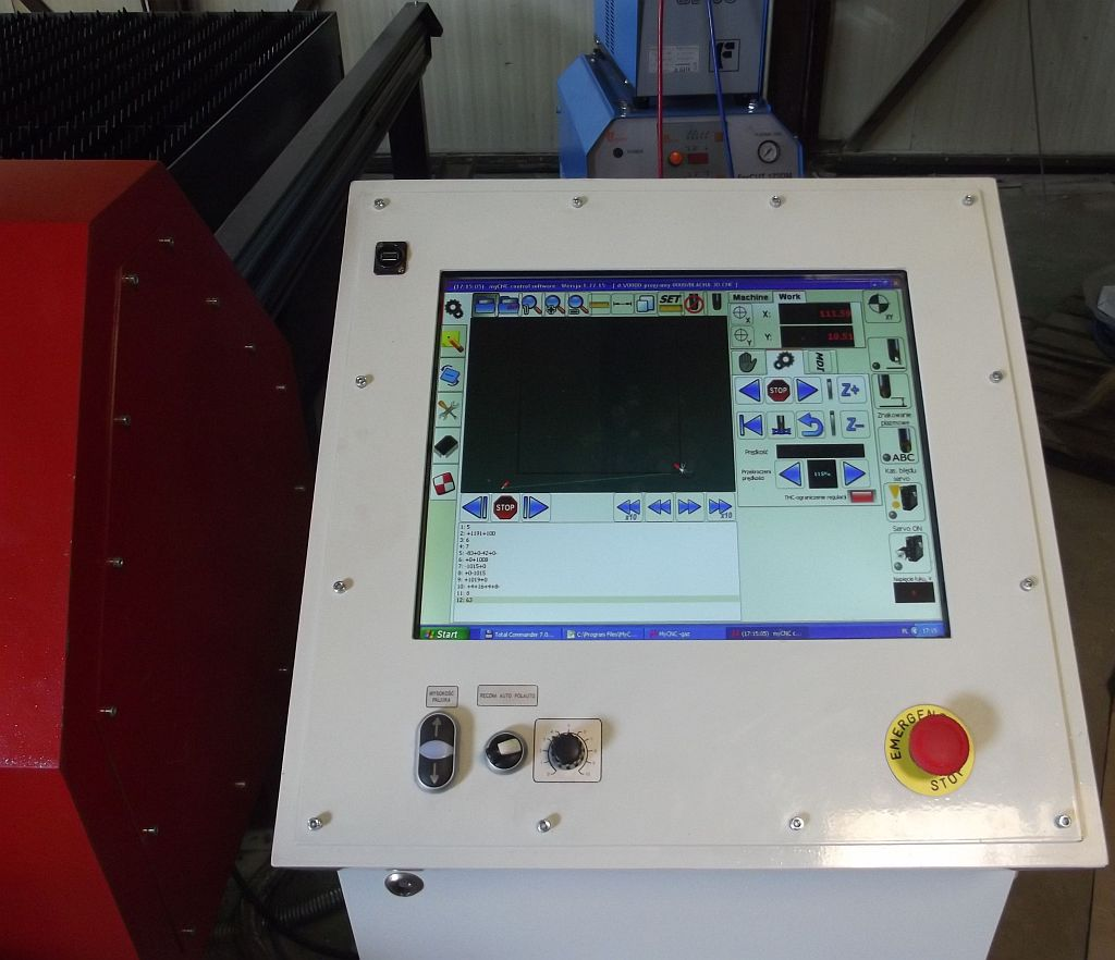 CNC control for plasma cutting machine