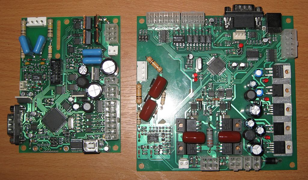 myTHC control boards